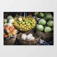 Mercado  Canvas Print