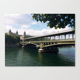 Paris Bridge Canvas Print