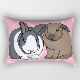 Hagrid and Molly Rectangular Pillow