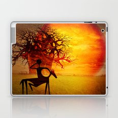 Visions of fire Laptop & iPad Skin
