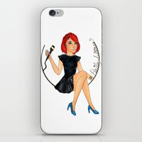 paramore iPhone & iPod Skins featuring Hailey W.  by Astha Karki