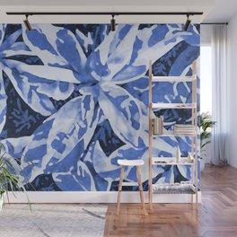 Aloha Blue Wall Mural