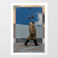 charmaine Art Prints featuring Pigeons by Charmaine de Heij - Travel Photography