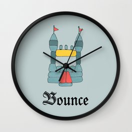 Bounce Wall Clock