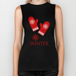 Winter is Here Biker Tank