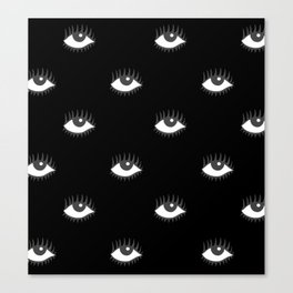 POP EYES 2 Canvas Print