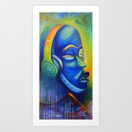 AfroBeatz Art Print
