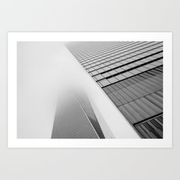 Lost in the Mists -4 New York 2018 Art Print