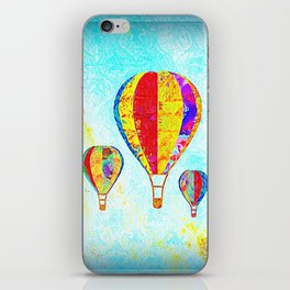 Beautiful Balloons Mosaic-Look iPhone Skin