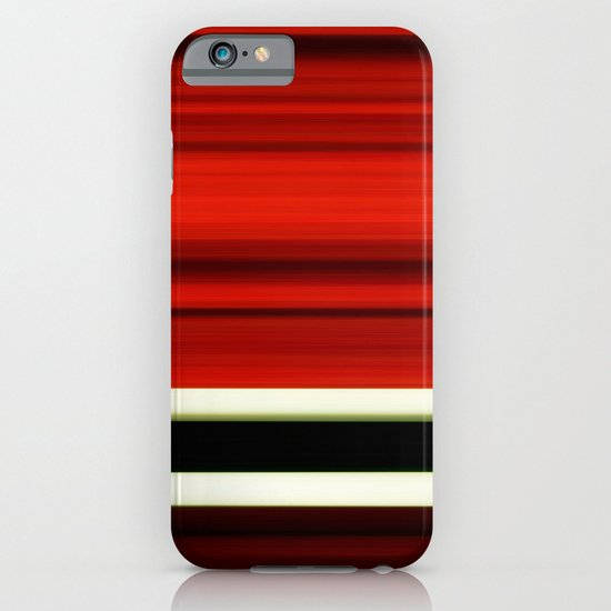 red-girl iPhone & iPod Case