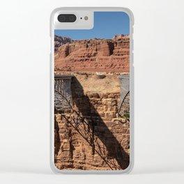 Navajo_Bridge - Marble_Canyon, Arizona Clear iPhone Case