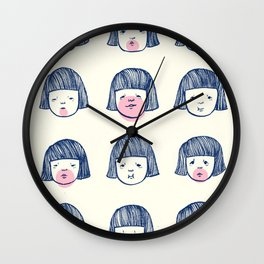 Bubble bubble bubble gum Wall Clock