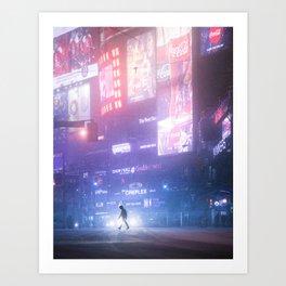 Toronto 2049 Art Print