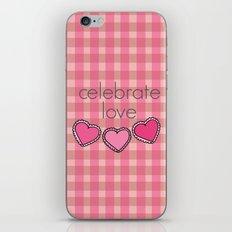 Celebrate Love! iPhone & iPod Skin