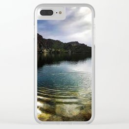 Ripple Effect at Saguaro Lake Clear iPhone Case