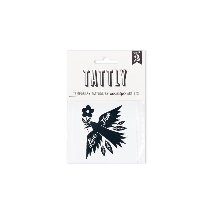 Live Free Temporary Tattoos by Matthew Taylor Wilson x Tattly
