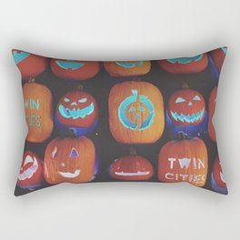 Jack O'Lanterns Rectangular Pillow