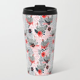 Wyandotte Chickens Travel Mug