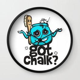 Got Chalk? Wall Clock