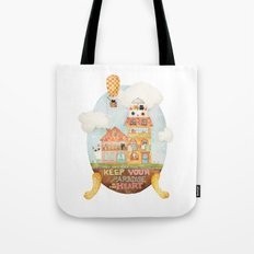 Keep your paradise in your heart Tote Bag