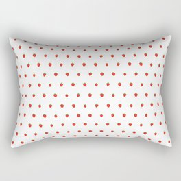 Strawberry Fields Rectangular Pillow