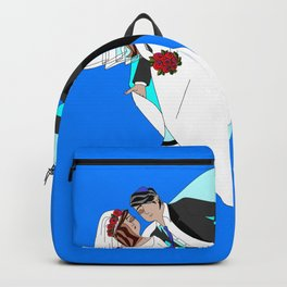 The Dreaming Bridegroom and Bride in Love Backpack