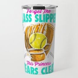 Forget Glass Slippers, This Princess Wears Cleats Travel Mug