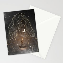 I see the universe in you. Stationery Cards