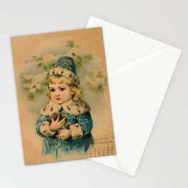 Russian Girl Maud Humphrey Stationery Cards