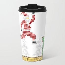 Mario Santa Claus Travel Mug