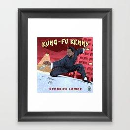 Kung Fu Kenny Framed Art Print