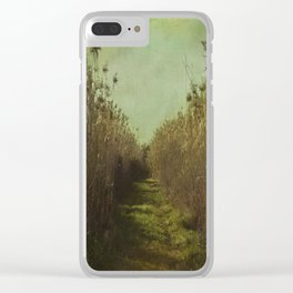 The path into the unknown Clear iPhone Case