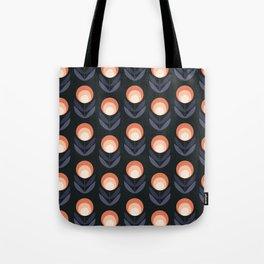 Mod Rose Pattern Tote Bag