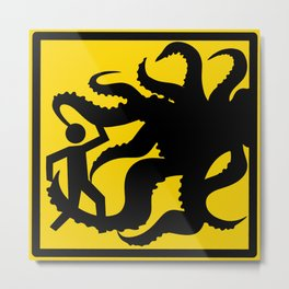 Safety First: We Have Worked 0 Days Without Summoning an Elder God Metal Print