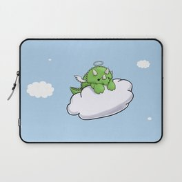 Angel Triceratops Laptop Sleeve