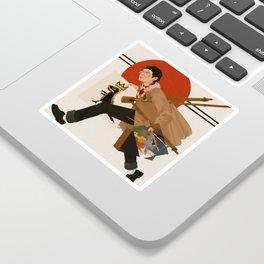 V X Basquiat Sticker