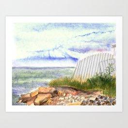 little shore Art Print