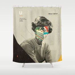 Since I Left You Shower Curtain