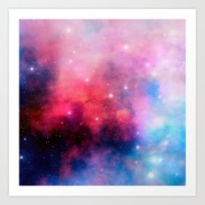 Intertstellar cloud Art Print