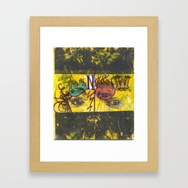 Root 3 Framed Art Print