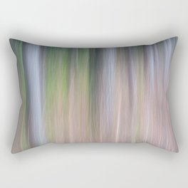 Forest Blur Rectangular Pillow