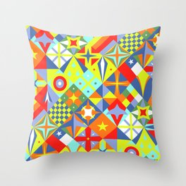 Volantines Throw Pillow