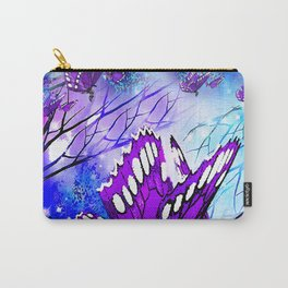 BUTTERFLY REFLECTIONS #2 Carry-All Pouch