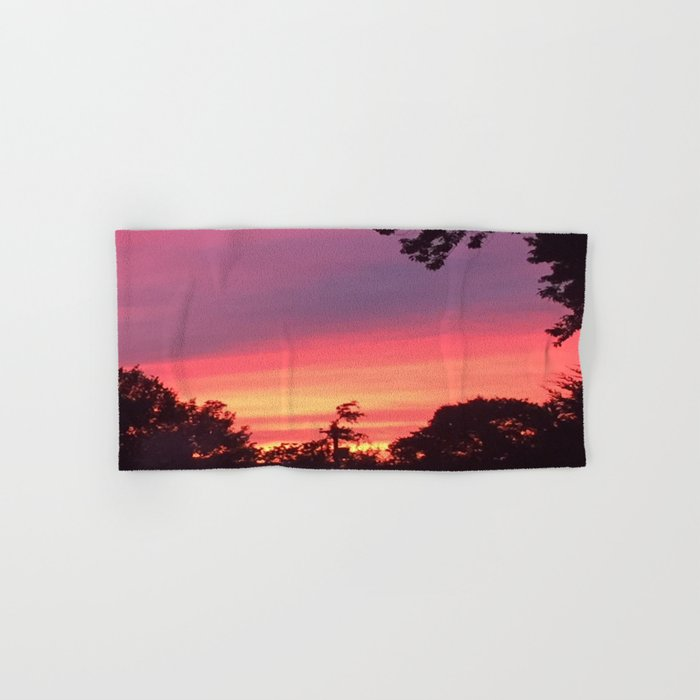 Sunset Hand & Bath Towel