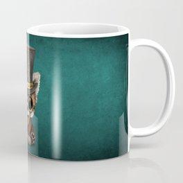 Steampunk Baby Red Panda Coffee Mug