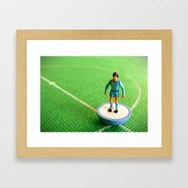 Coventry City Subbuteo Player 1988 Framed Art Print