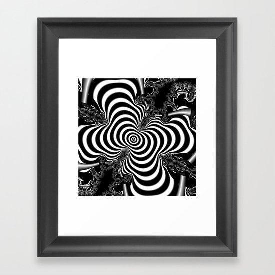 Hypnotizing Framed Art Print