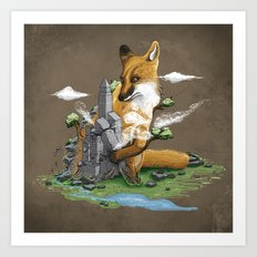Clean the World II Art Print