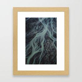 Rivers of Iceland 1 Framed Art Print