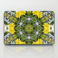 marc johns iPad Cases featuring Kaleidoscope of showy St Johns Wort  by Wendy Townrow